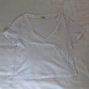 Brandy Melville V-Neck Tee Shirt